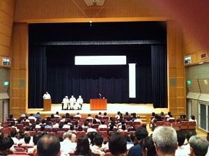 9月11日 兵庫県高等学校通学区域検討に関する説明会